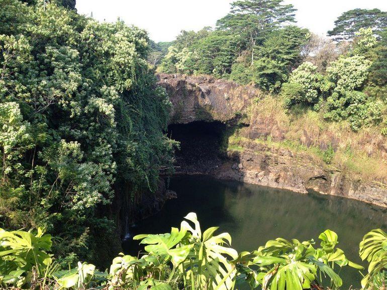 Rainbow Falls - Oahu