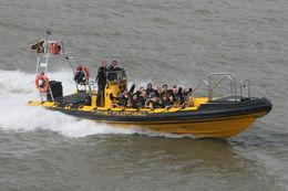 Flying along the River Thames, Frances - April 2011