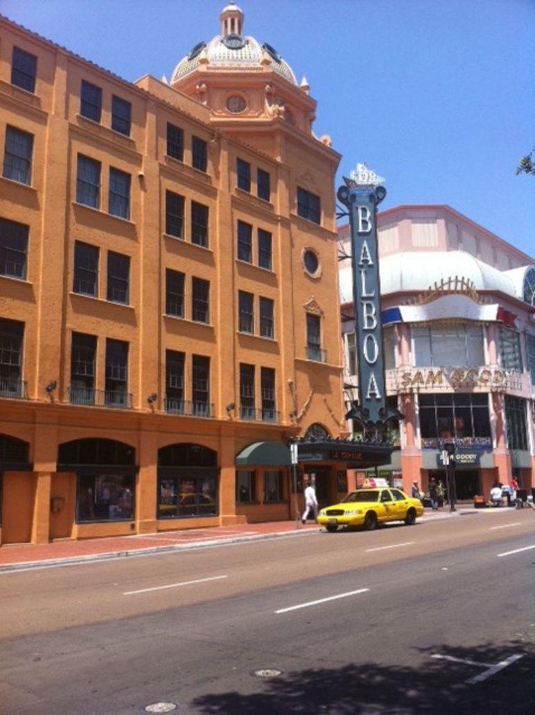 The Balboa Theatre - San Diego