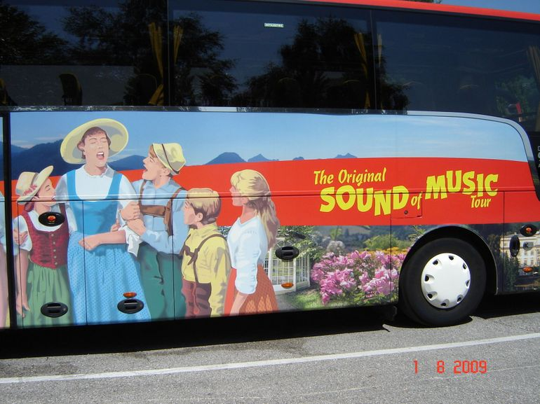 The Sound of Music bus - Salzburg