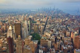 View of Manhattan, Sherry Ott - August 2012
