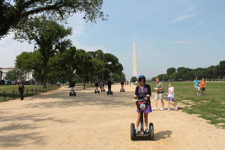 Washington Monument - here we come! - Washington DC