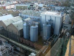 zicht op de brouwerij Guinness , Nico J - November 2014