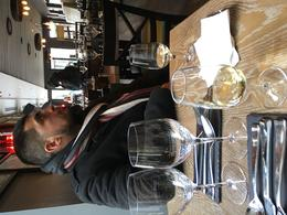 My boyfriend at one of the tour stops. Great wine. , amy.hernandez - March 2017
