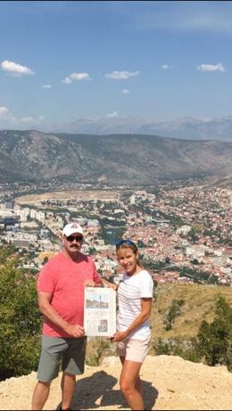 Mostar from Hum Hill , Teresa B - September 2017
