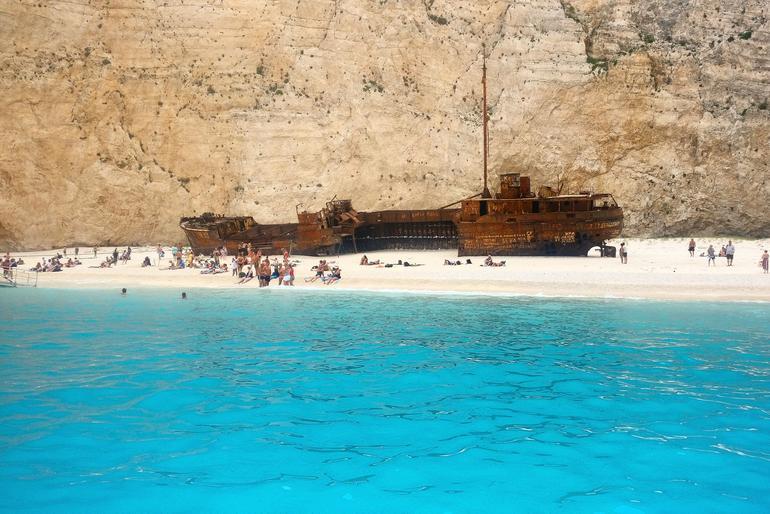 Zakynthos Shipwreck Beach Excursion