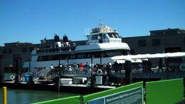 Alcatraz ferry, B.Chen - August 2011