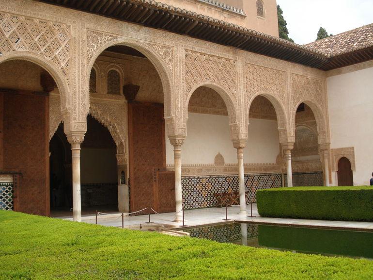 Alhambra Palace architecture - Costa del Sol