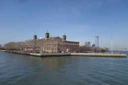 Arriving at Ellis Island, lgs888 - April 2015