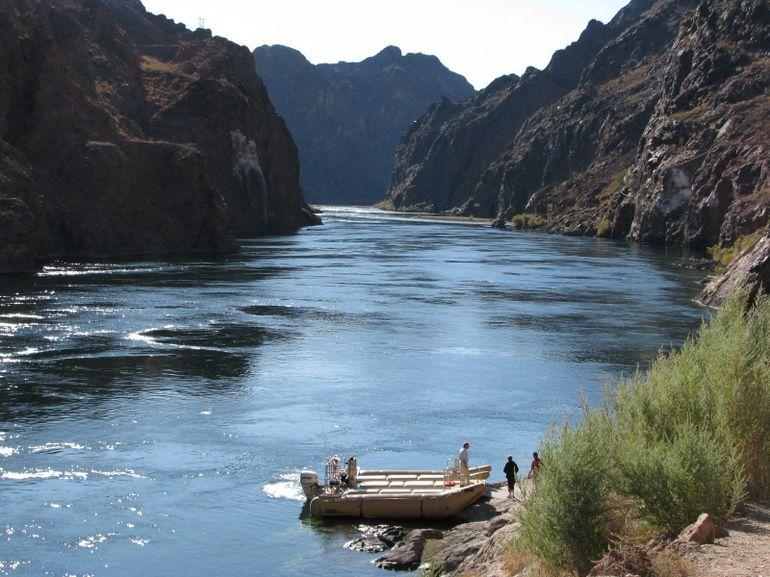 Beginning of Black Canyon River Tour - Las Vegas
