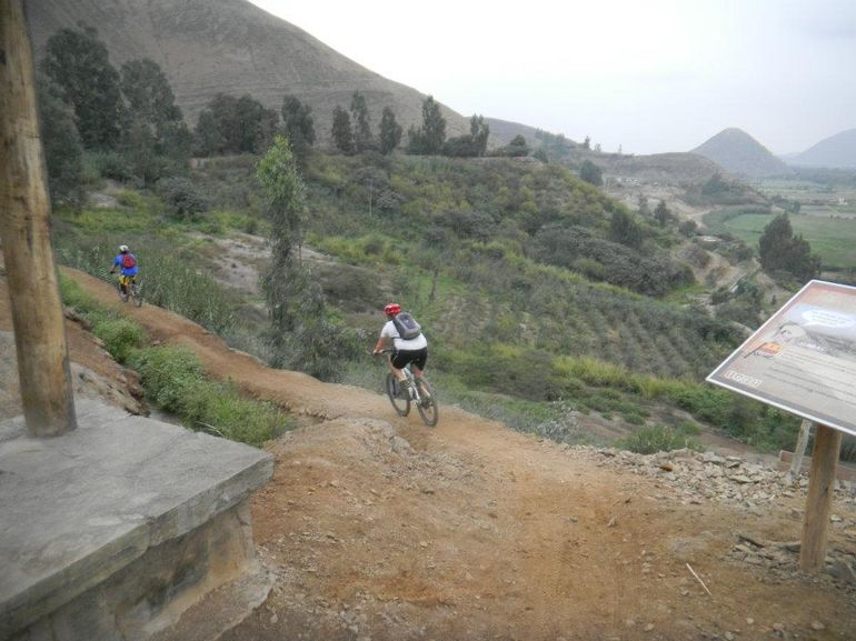 Biking in Peru - Lima