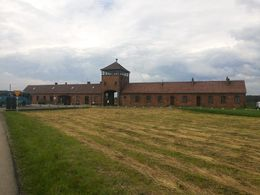 Birkenau view from the parking lot... , Luiz Cezar S - June 2013