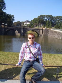 Unfortunately, this is as close as you get to the Imperial Palace when garden is closed on Monday's....i actually expected an invite from the Emperor....it's appears to be ALOT more modern than the ... , Warren C - November 2011