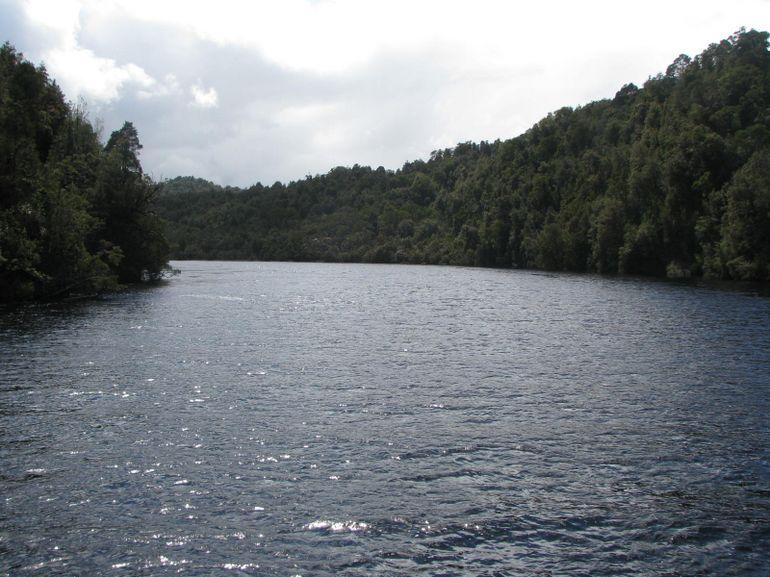 Cruising the Gordon River - Tasmania