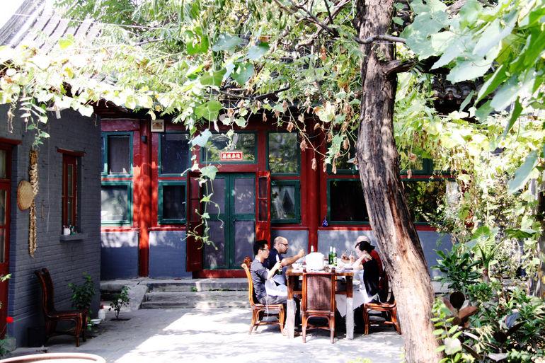 Dim sum making class - Beijing
