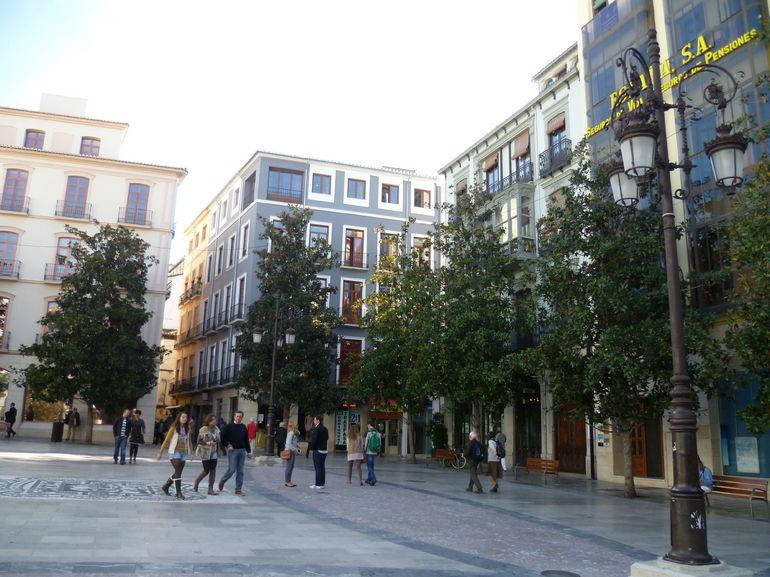 Granada town centre - Malaga