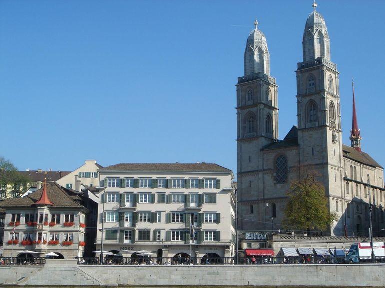Grossmunster in Limmatquai, Zurich - Zurich