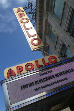 Apollo Theater, Jules & Brock - July 2012
