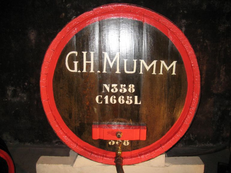 Champagne Region Day Trip: House of Mumm - Paris