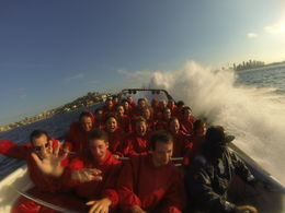 Jet Boat Thrill Ride on Sydney Harbour - April 2013