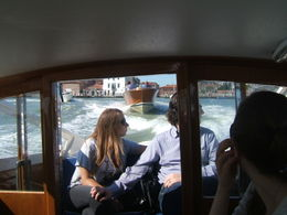 Our water taxi heading for the airport. , Joseph S - July 2011