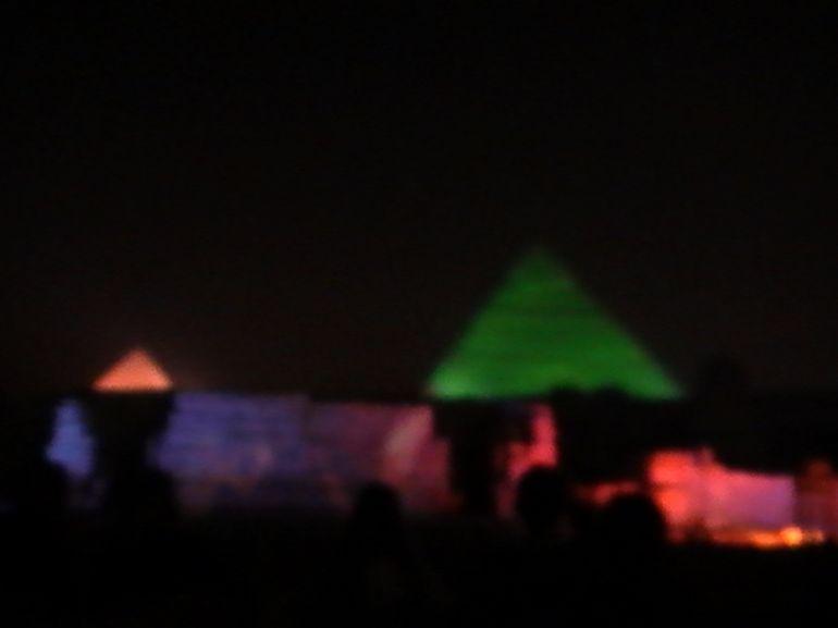 Light & Sound Show - Cairo
