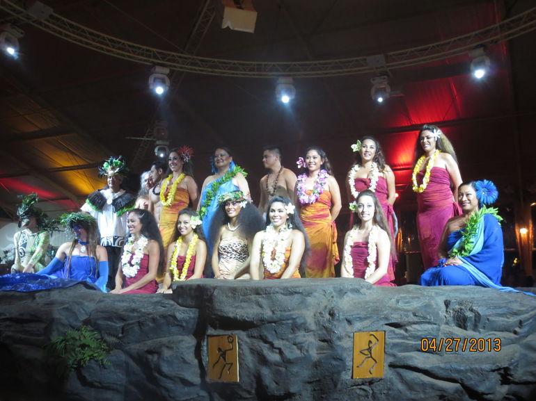Luau show - Kauai