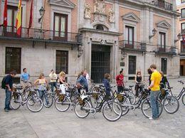 We met in a beautiful Spanish plaza. - June 2010