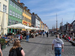 Nyhavn (New harbor) great for restaurants , Alfred L - June 2013