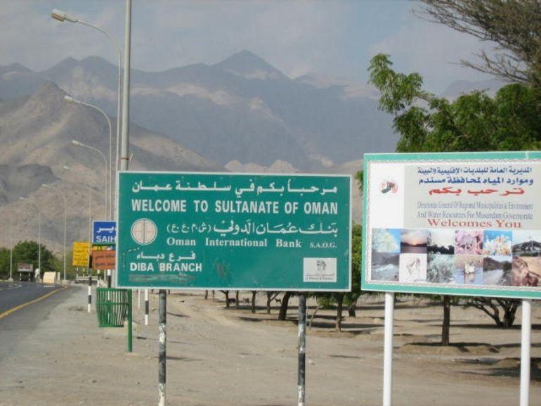 Oman border - Dubai