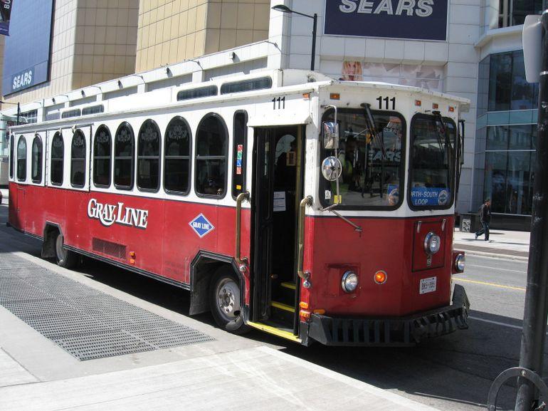 our tour bus - Toronto
