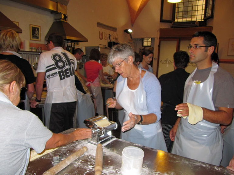 Pasta making class 2 - Italy