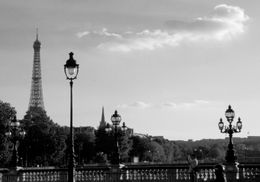 A shot of the Eiffel Tower - August 2009