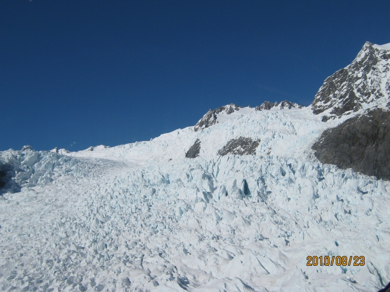 The Glacier - Franz Josef & Fox Glacier