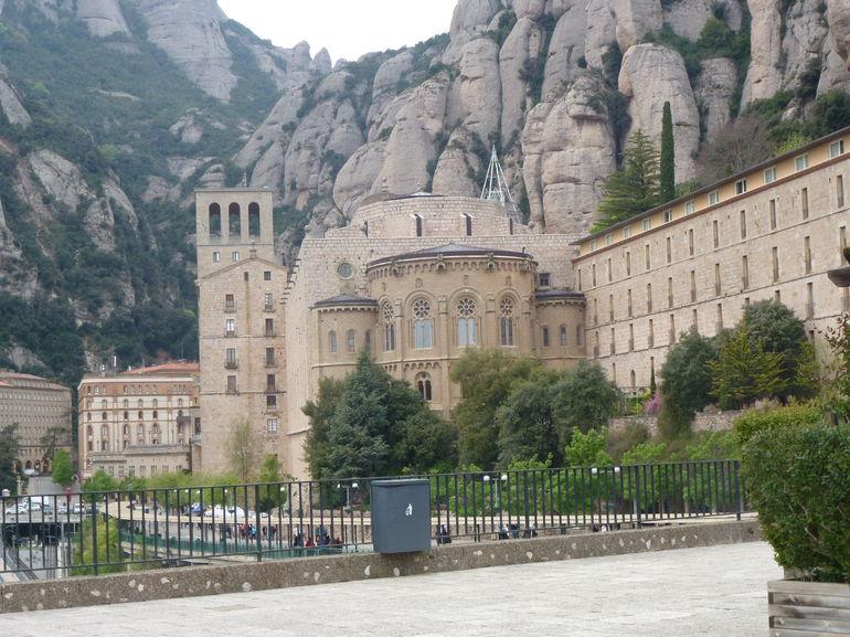 vue du monast�re - Barcelona