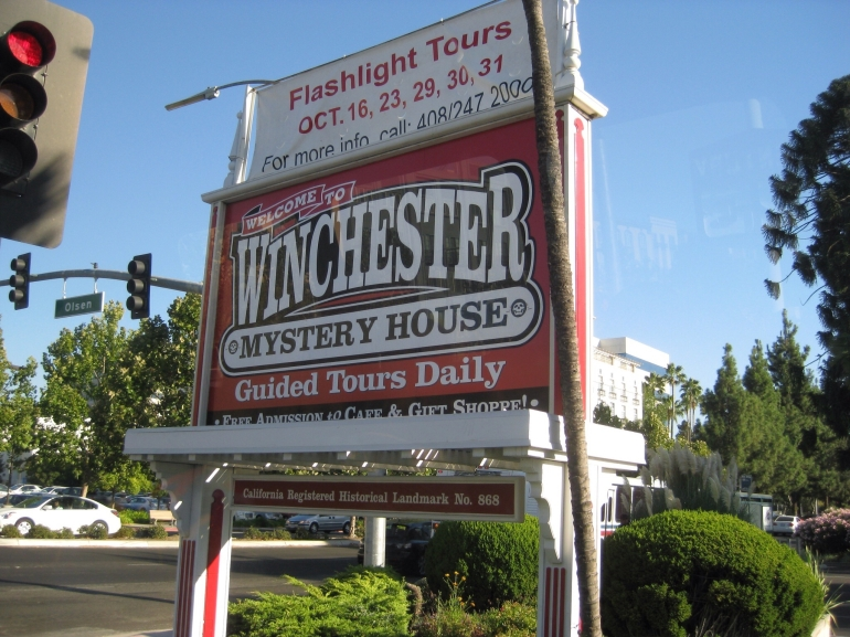 Winchester Sign - San Francisco