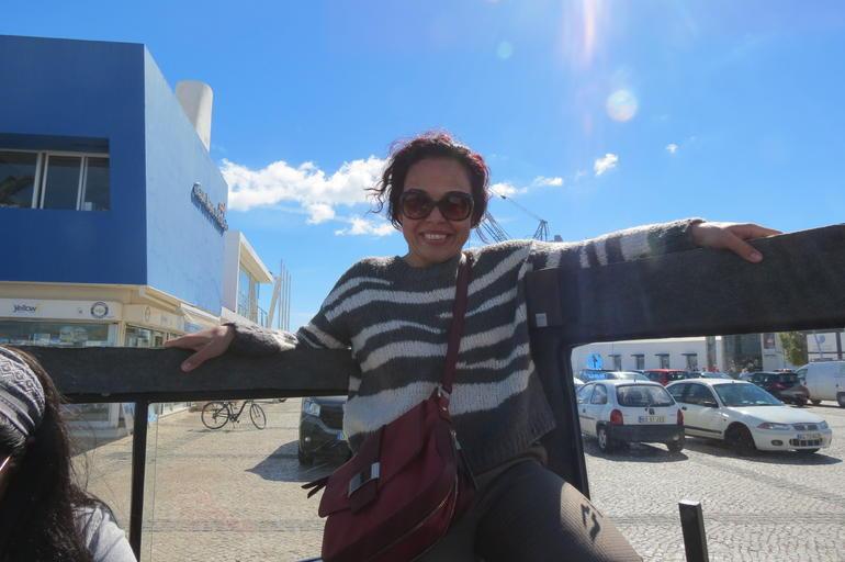 Algarve Coastline Tour from Portimao jeep and boat tour