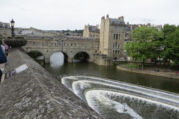 THe River Avon in Bath , Diane G - July 2017