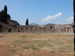 The marketplace ruins in Pompeii. , John H - August 2017