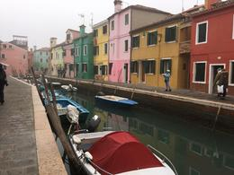 The vibrance of the houses in Burano is a delight to behold , Vic - February 2018