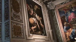 caravaggio art tour, Joseph P - September 2014