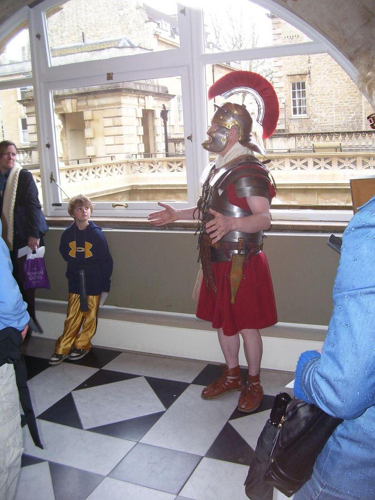A Roman at Bath - London