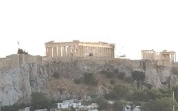 Acropolis view from Hotel , Tony V - September 2015
