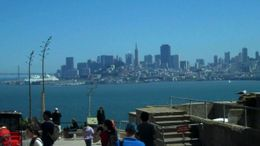 SF view from Alcatraz, B.Chen - August 2011
