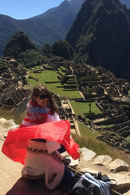 The photo of a Polish who was dreaming to see Machu Picchu since she was little. Made it! , Klaudia Anna S - August 2016