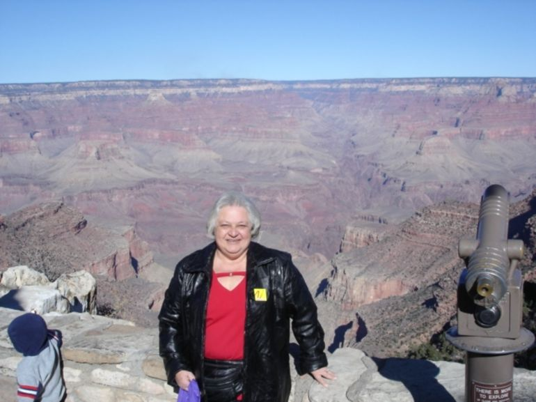 At the South Rim of the Grand Canyon - Las Vegas