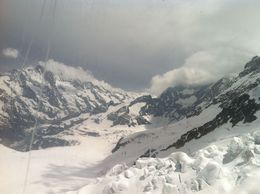 At the top of Jungfrau , Cheryl B - July 2013