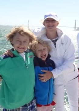 Sailing with my boys, memories to cherish! , Kimberly Ann O - July 2015
