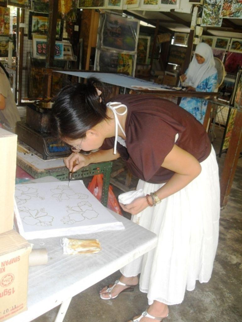 Batik artist - Singapore