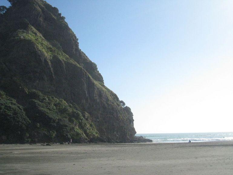 Black Sand Beach - Auckland